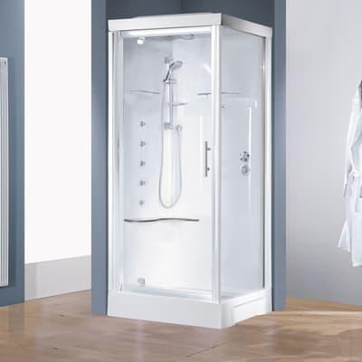 Cabina doccia CAYENNE 80 x 80 cm