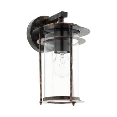 Applique Valdeo in acciaio inossidabile, rame, E27 MAX1X60WW IP44 EGLO