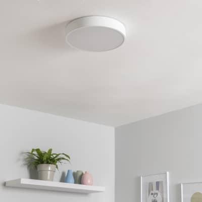 Plafoniera design Caty LED integrato bianco, in ferro,  D. 30 cm INSPIRE