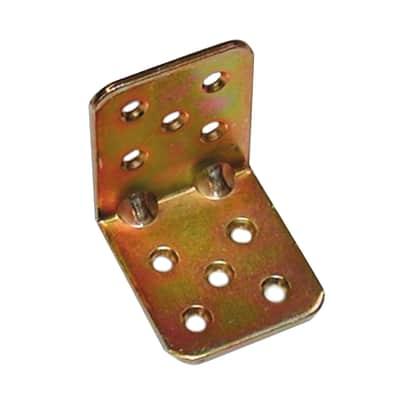 Piastra angolare STANDERS in acciaio zincato L 45 x Sp 2.5 x H 40 mm  20 pezzi