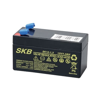 Batteria per allarme 12 V 1.2 Ah impianti videosorveglianza