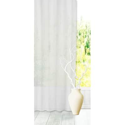 Tenda INSPIRE Abby bianco arricciatura con passanti nascosti 200 x 280 cm