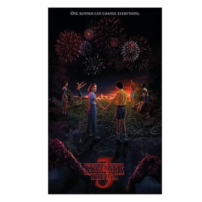 Poster Poster 61x91,5 cm Stranger Things 61x91.5 cm