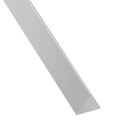 Profilo angolo STANDERS in alluminio 2.6 m x 3 cm grigio