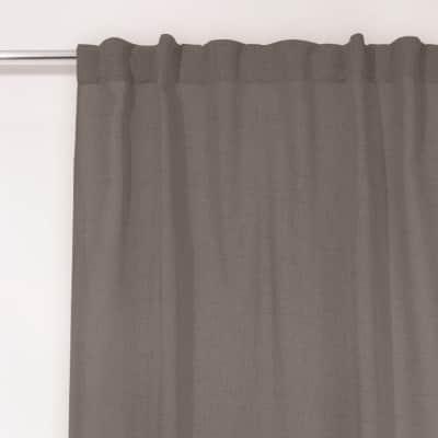 Tenda Coloso grigio fettuccia con passanti nascosti 135x280 cm