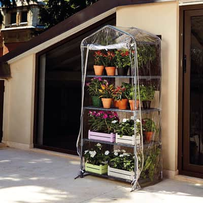 Serra da giardino VERDEMAX H 158 cm, L 70 x P 50 cm