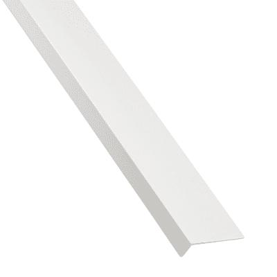 Profilo a l STANDERS in pvc 2.6 m x 3 cm bianco
