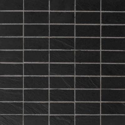 Mosaico Vesuvio H 30 x L 30 cm nero