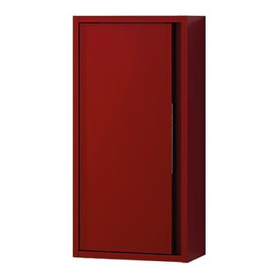 Pensile Loto 1 L 35 x P 18 x H 70 cm lucido rosso laccato