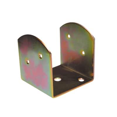 Staffa in acciaio 80 x 70 mm