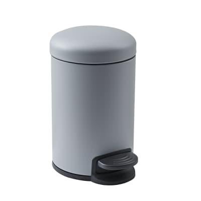 Pattumiera da bagno a pedale SENSEA 3 Lin acciaio
