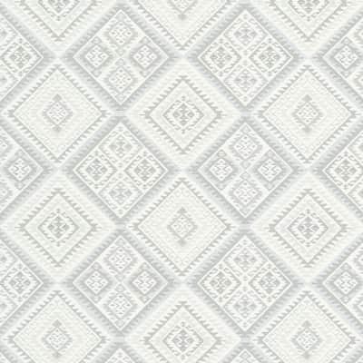 Carta da parati ethno bianco prezzi e offerte online for Carta parati prezzi
