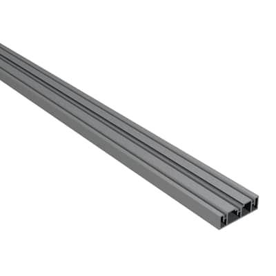 Travetto da pavimento in alluminio 2 x 4.6 x L 220 cm