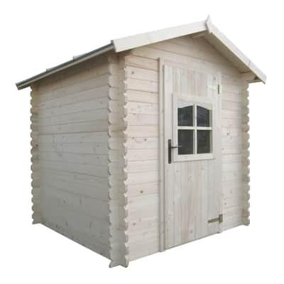 Casetta da giardino in legno CASETTA ALMATY 3,03MQ 1,98X1,98M 28MM,  superficie interna 3.04 m² e spessore parete 28 mm