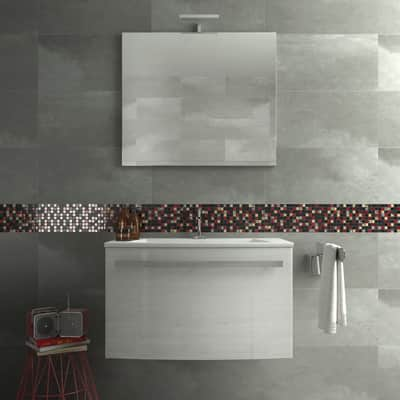Mosaico Red & Dark H 30 x L 30 cm multicolore