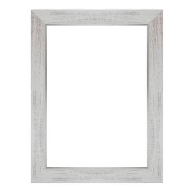 Cornice Gina bianco per foto da 24x30 cm