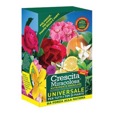Concime piante fiorite granulare CM NUTRIMENTO UNIVERSALE GRANULARE GRANULARE