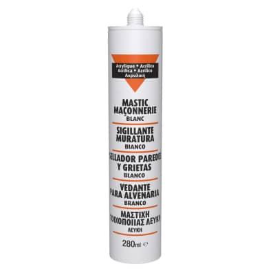 Silicone sigillante Muri e Pareti bianco 280 ml