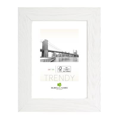 Cornice Varenna bianco per foto da 35x50 cm