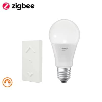 Lampadina smart lighting LED, WIFI, E27, Goccia, Opaco, Luce calda, 60W=810LM (equiv 50 W), 360° , LEDVANCE
