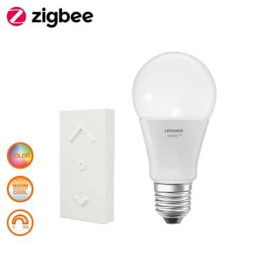 Lampadina collegato LED E27, Goccia,  diffusore Opaco, col.luce Bianco, Luce calda, 60W=810LM (equiv 60 W), 360° , LEDVANCE