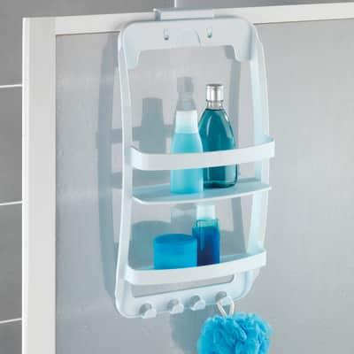 Mensola per bagno Universal L 26 cm bianco