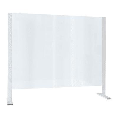 Schermo di protezione polistirene trasparente 120 cm x 100 cm, Sp 3 mm