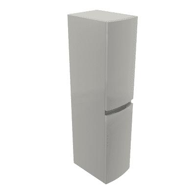 Colonna Vague 2 L 30 x P 38 x H 130 cm grigio chiaro