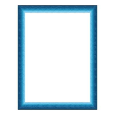 Cornice INSPIRE Bicolor azzurro<multisep/>blu per foto da 50x70 cm