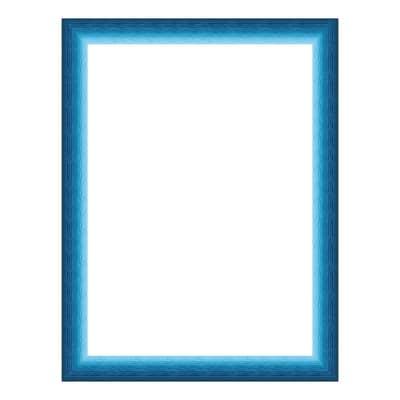 Cornice INSPIRE Bicolor azzurro<multisep/>blu per foto da 30x40 cm