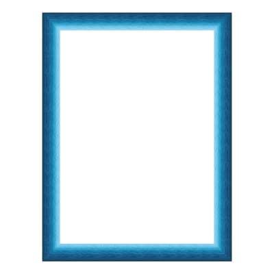 Cornice INSPIRE Bicolor azzurro<multisep/>blu per foto da 10x15 cm
