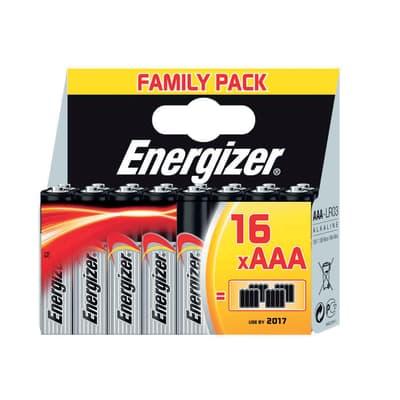 Pila LR03 AAA 1.5 V ENERGIZER Classic FamilyPack 16 batterie