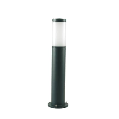 Lampioncino Fidel H55cm in alluminio, nero, E27 1xMAX25WW IP43