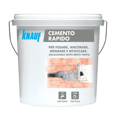 Cemento rapido KNAUF pronta 5 Kg