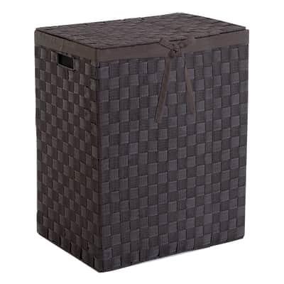 Portabiancheria Compactor Tex marrone meno di 50 L