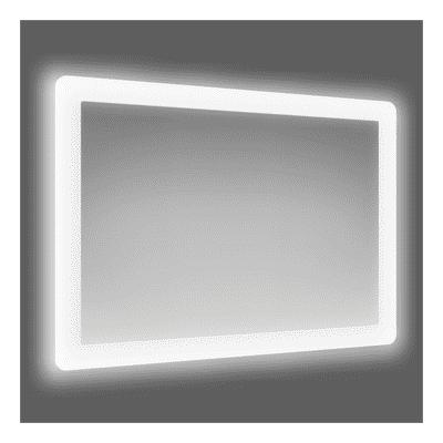 Specchio Bagno Led 100.Specchio Con Illuminazione Integrata Bagno Rettangolare Fog Led L