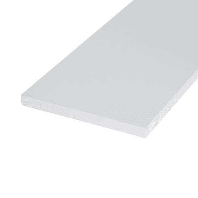 Ripiano melaminico ARTENS 100 x 40 cm Sp 18 mm , bianco