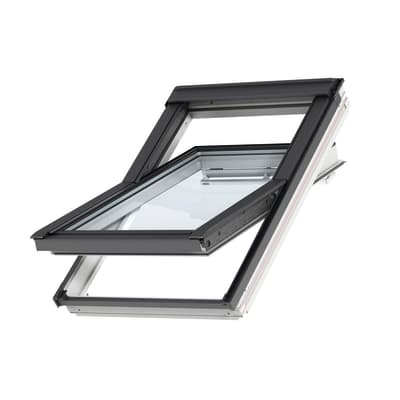 Finestra da tetto (faccia inclinata) VELUX GGL UK04 2068 manuale L 134 x H 98 cm bianco
