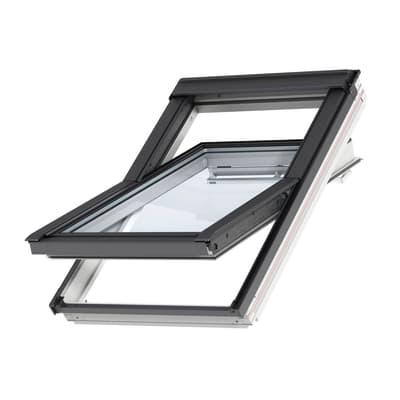 Finestra da tetto (faccia inclinata) VELUX GGL BK04 2086 manuale L 47 x H 98 cm bianco