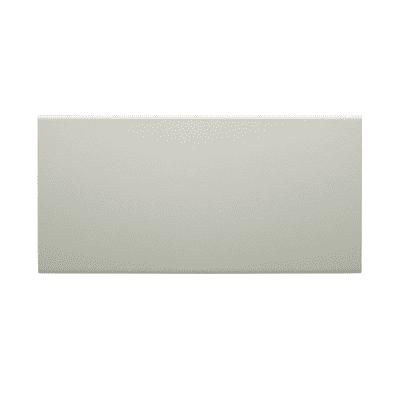 Paracolpi battisedia in mdf bianco 2.2 m x 100 mm, Sp 10 mm