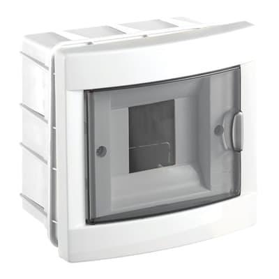 Centralino a incasso 4 moduli IP40 OLAN bianco