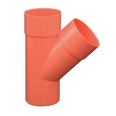 Derivazione arancione 45° Ø 50 mm