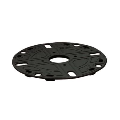 Supporto per pavimento nero Sp 5 mm