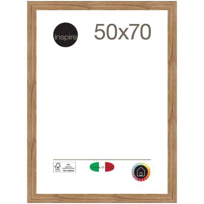 Cornice Maussane rovere per foto da 50x70 cm