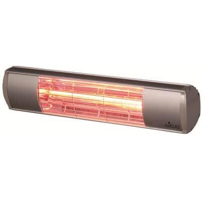 Riscaldamento per esterni NIKLAS Termopatio infrarossi grigio / argento 1500 W
