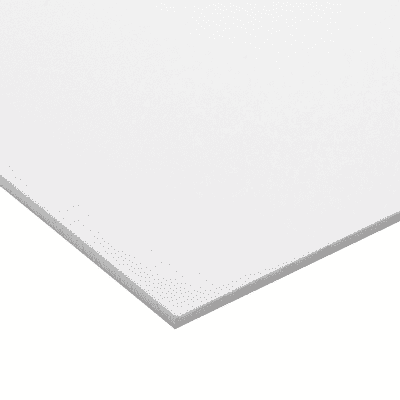Lastra Pvc Espanso Bianco 100 Cm X 200 Cm Sp 3 Mm
