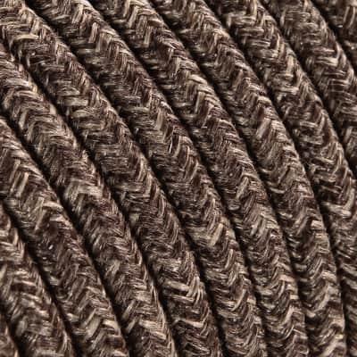 Cavo tessile MERLOTTI 2 fili x 0,75 mm² marrone 3 metri