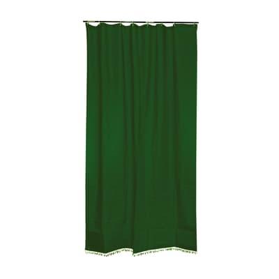 Tenda da sole ad anelli 150 x 230 cm verde
