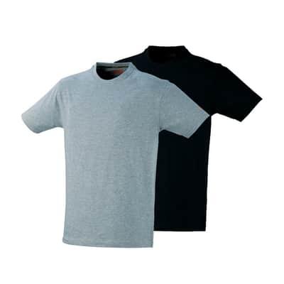 T-shirt da lavoro KAPRIOL tg xxl nero grigio 2 pezzi