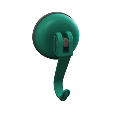 Gruccia Easy verde aspetto gomma in plastica